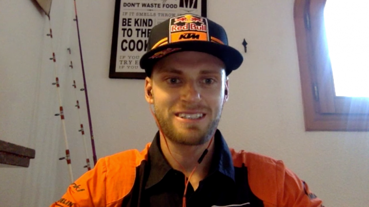 Brad Binder interview