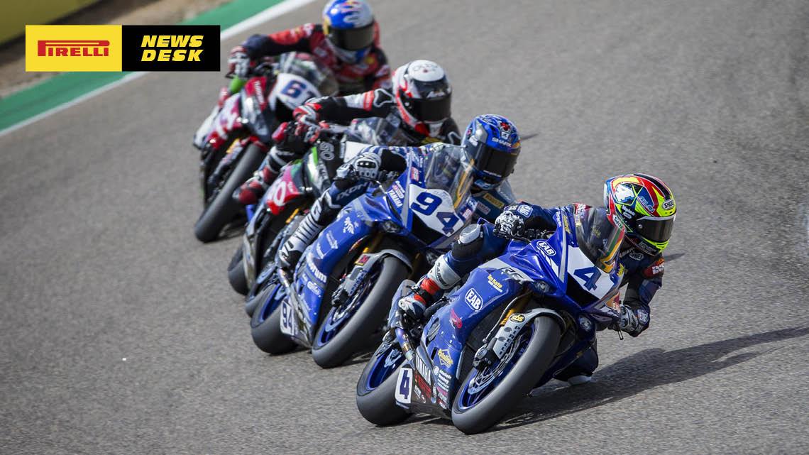 Steven Odendaal Aragon 1 race report