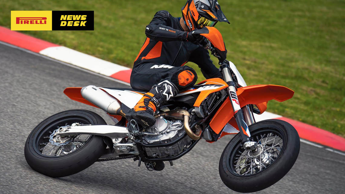 BACK IN THE GAME: KTM 450 SMR ROARS TO RACETRACKS AGAIN