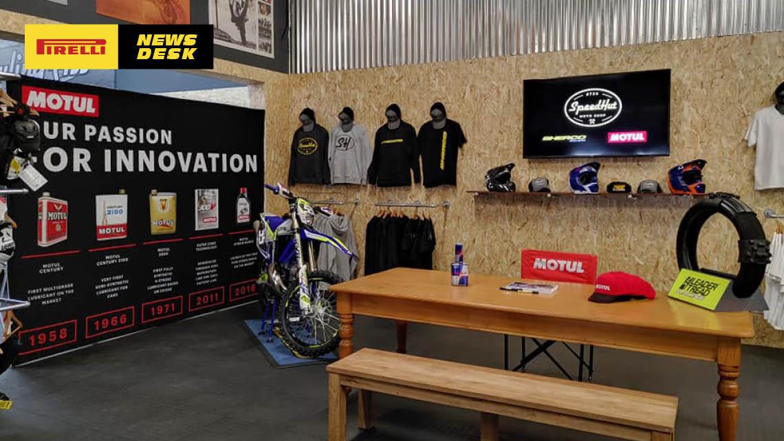 Speedhut Moto Shop now open!
