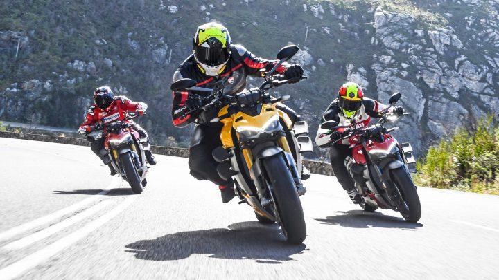 Exploring George on Ducati Streetfighters and Scramblers