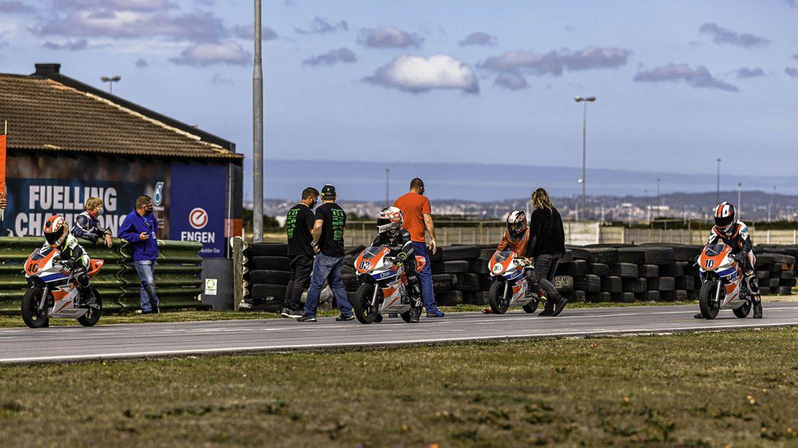 PECBR Development riders first race on Main Circuit Aldo Scribante