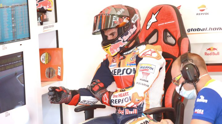 Marc Marquez recovery interview
