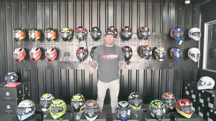 AGV Helmet review