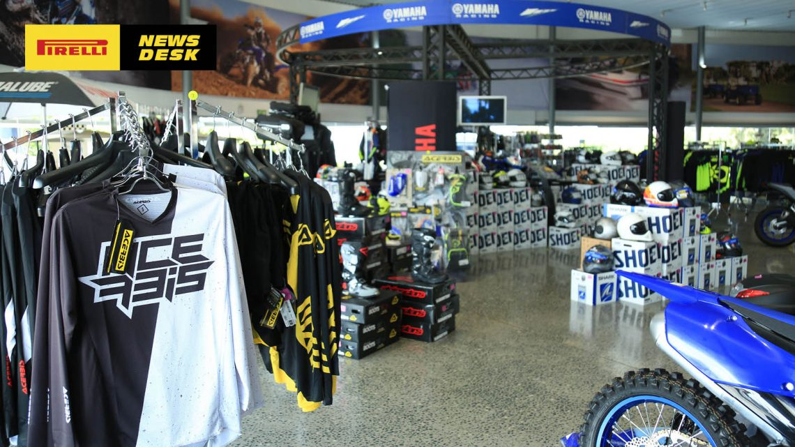The All-New Concept Store Accessory Hyper at the World of Yamaha