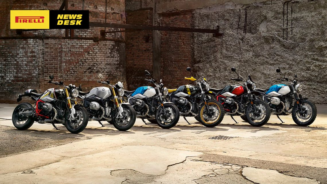 The new BMW R nineT models.