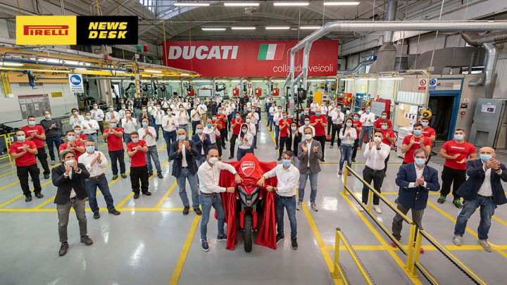 New Ducati Multistrada gets the V4 engine and a magic black box.