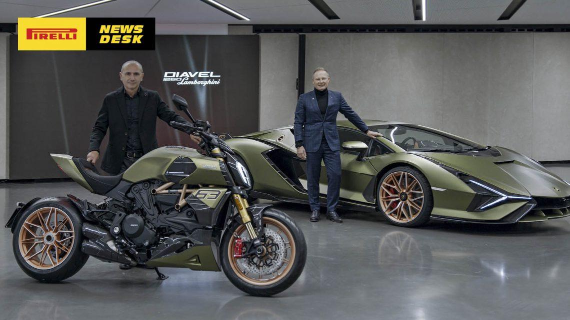 Ducati presents the Diavel 1260 Lamborghini