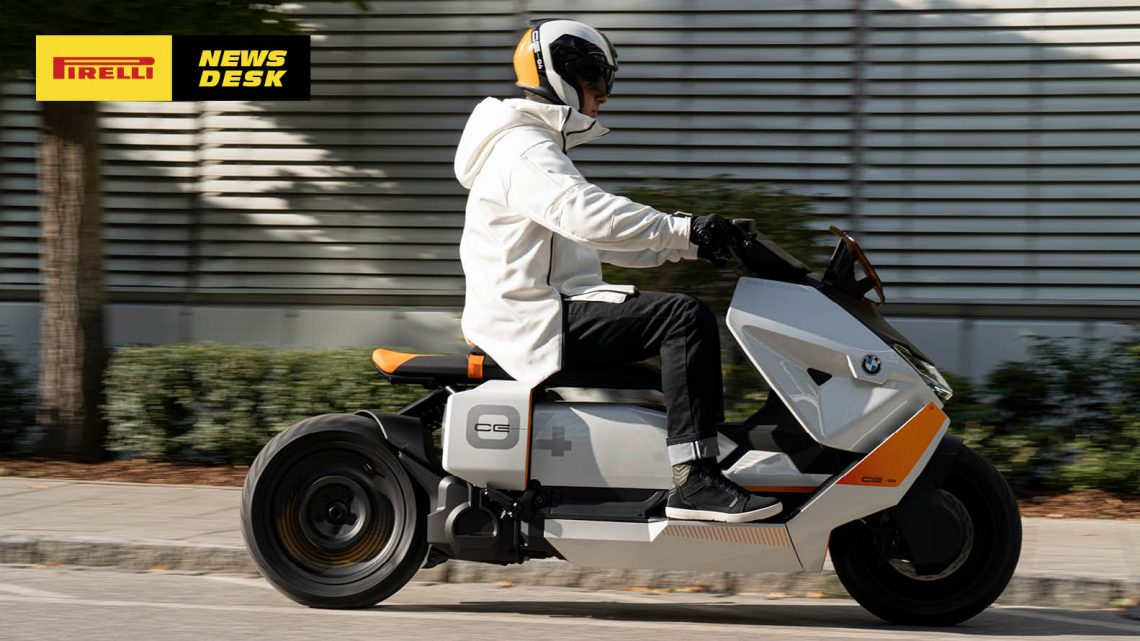 BMW Motorrad Definition CE 04. The new style of urban two-wheel mobility.