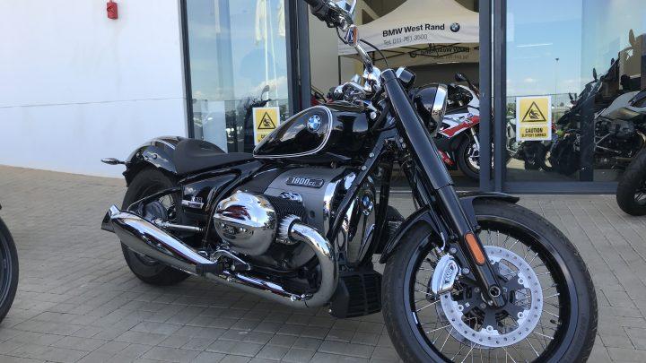 BMW Motorrad West rand shop visit