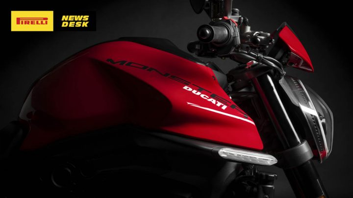 Ducati presents new lightweight, more powerful Monster