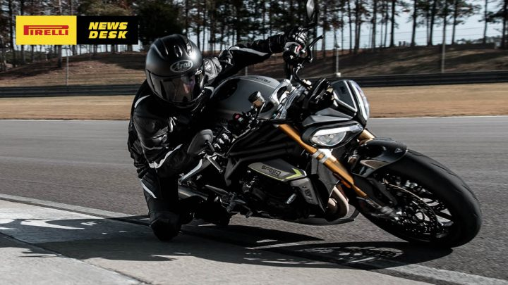 Triumph go bigger and better with New Speed Triple RS